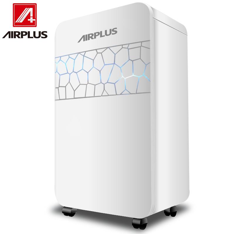 艾普莱斯AIRPLUS美国除湿机抽湿机除湿器志高家用地下室抽湿器AP22-202EE白色