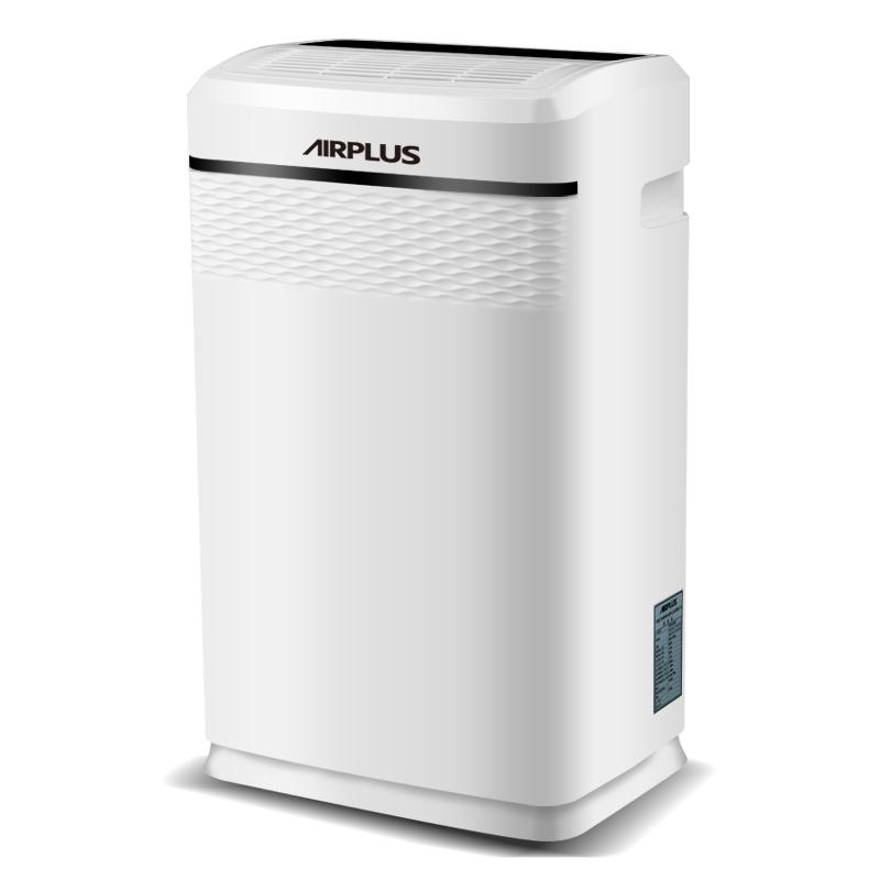 艾普莱斯(AIRPLUS) 美国 除湿机抽湿机家用志高静音地下室除湿器空气净化器 AP20-501EE白色