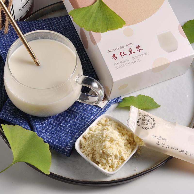 喜善花房杏仁豆浆粉175g营养健康早餐粉冲饮黄豆浆原味无奶精方便低卡