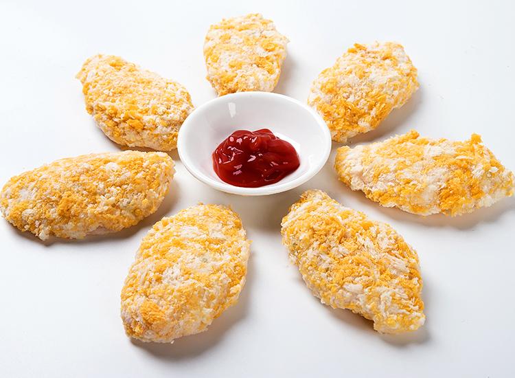 裹粉调味龙鱼块越南进口海鲜冻品(1KG/包 27-30片)
